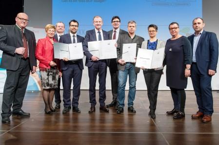Verleihung Gütesiegel 2016